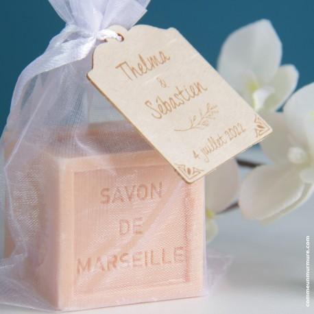 Savon de Marseille / Mini Cube 100 g - Cannelle Orange