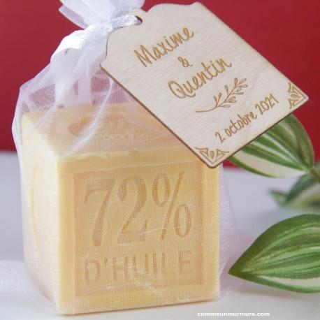 Savon de Marseille / Mini Cube 100 g Orange Pamplemousse