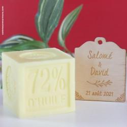 Savon de Marseille / Mini Cube 100 g Mimosa