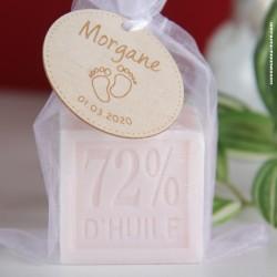 Savon de Marseille / Mini Cube 100g Rose