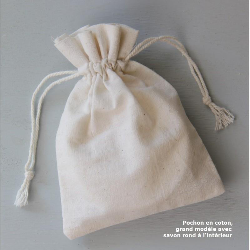 pochon en coton pour petits cadeaux pochon en tissu. Black Bedroom Furniture Sets. Home Design Ideas