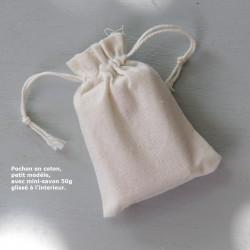 Pochon coton petit modèle