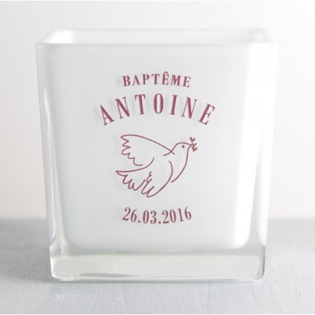 BAPTEME PHOTOPHORE COLOMBE