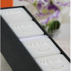 Coffret Prénom - mini savons