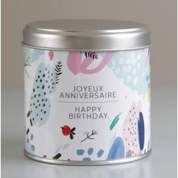 Boite 3 savons Happy Birthday
