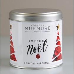 Savon Noël Boite rouge