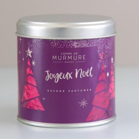 Savon Noël Boite violette