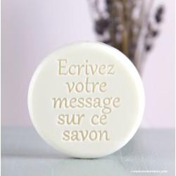 Boite savon Message