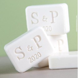 Mini savon 2 initiales