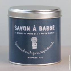 Savon à Barbe - Boite 3 recharges
