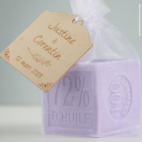 Savon de Marseille / Mini Cube 100 g - Lavande