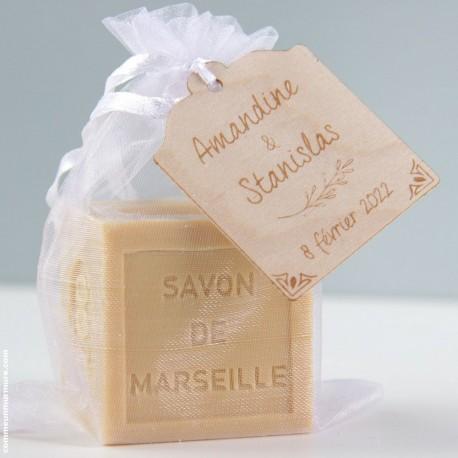 Savon de Marseille / Mini Cube 100 g - Miel
